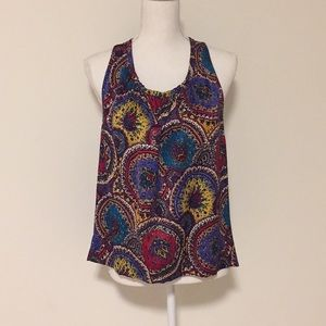 Marc Jacobs Colorful Silk Sleeveless Blouse!!